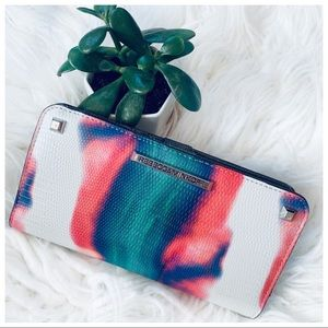 REBECCA MINKOFF snap leather Wallet